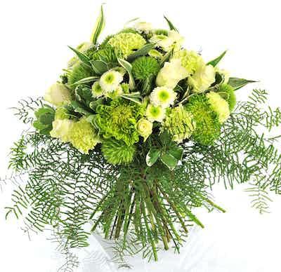 bouquet fleurs livraison blanches anniversaire deuil obseques enterrement mariage naissance fleuriste