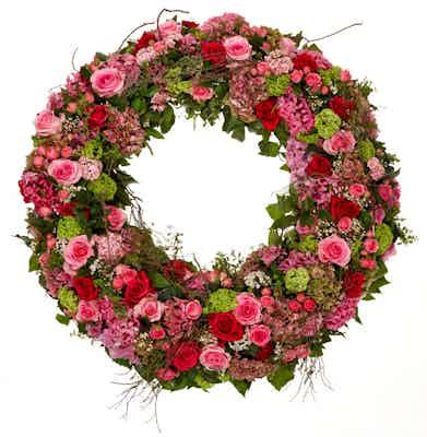 couronne fleurs livraison fleuriste livrer hommage obsèques deuil
