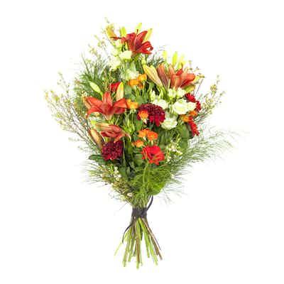 gerbe fleurs livraison deuil livrer fleuriste obseques deposer