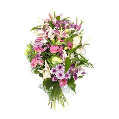 gerbe livrer fleurs livraison fleuriste deuil enterrement obseques