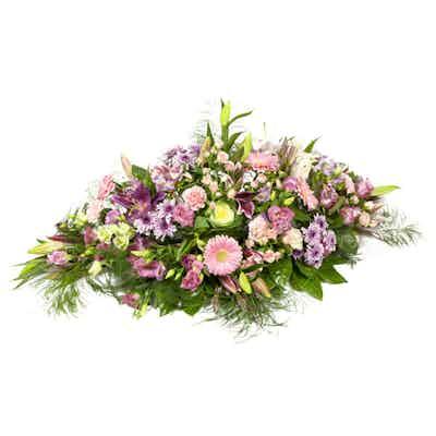 raquette fleurs livraison fleuriste deuil deposer gerbe